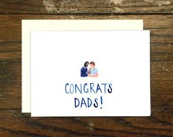 Gay Dads Congrats New Baby