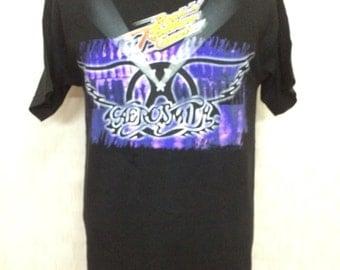 Unworn AEROSMITH Walt Disney Rock'n Roller Coaster Band Tshirt