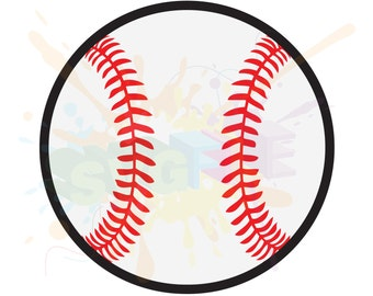 Baseball SVG Files for Cricut Cutting Sports Balls Designs - SVG Files for Silhouette - Instant Download