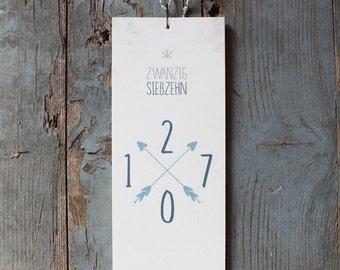 Neujahrskarten und Kalender für 2017