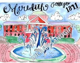 Meredith College Johnson Hall