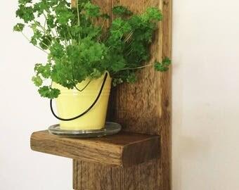 Wood Shelf - Reclaimed Wood - Bathroom Shelf - Book Holder - Furniture - Rustic Wood - Home Decor - Kitchen Shelf - Shelf - Storage