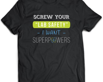 Science T-Shirt. Science tee present. Science tshirt gift idea. - Proudly Made in the USA!
