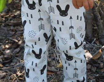 Black & White Bunny Leggings