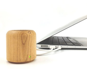 Cannon / 5cm Wood Crafted Speaker