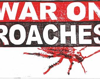 War on Roaches