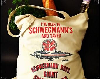 Heavy Duty Canvas Schwegmann's Grocery Bag , Metairie, Louisiana, NOLA