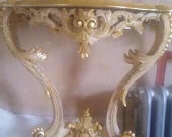 Rocococ console table