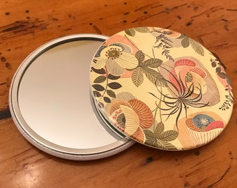 Mid Century Modern Purse Mirror