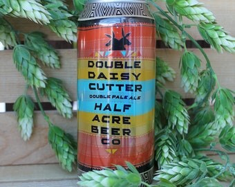 Half Acre Daisy Cutter DPA Upcycled Beer Can Candle 100% Soy Wax 16 oz. Craft Beer Gifts Groomsmen gifts Graduation Gift Housewarming Gift