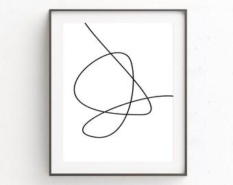 Minimalist Bedroom, Minimal Poster Print, Minimal Art Poster, Extra Large Art, Minimalist Poster, Minimalist Living, Printable Art, Gallery