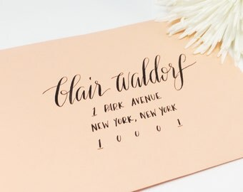 Wedding Calligraphy Envelope Addressing/ Save the date Calligraphy Envelope Addressing/ Hand Lettered/ Custom Wedding Address /Calligraphy