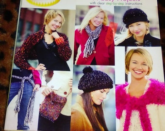 KNITTING WHEEL FASHIONS 14 Easy Projects by Leisure Arts