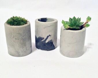 Concrete Planter Set of 3