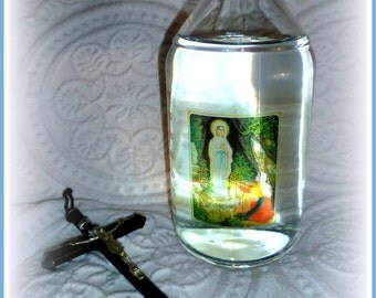 1 liter of holy water - original Healing Waters from our Lady of Lourdes holy water from Lourdes 1000 ml. - fresh from the Grotto.
