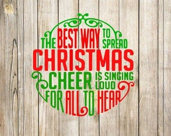 Christmas Cheer SVG GSP PNG, Elf svg, instant download