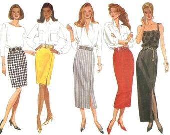 Women's Skirts Sewing Pattern UNCUT Butterick 6419 Miss Size 18-22