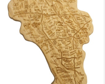 Los Angeles Engraved Cutting Board