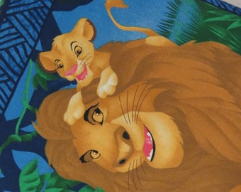 Handmade Vibrant and Whimsical Lion King Quillow