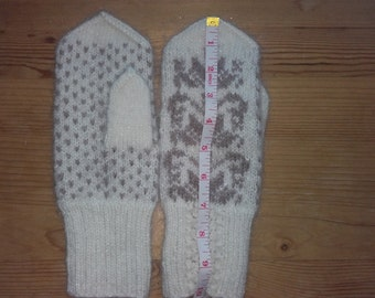 Knitting accessories Unique birthday gifts for girls mittens girls christmas wool fair isle mittens girlfriend gift merry Christmas