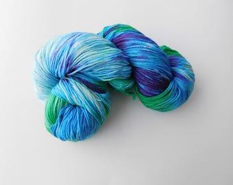 Sophies wool hand dyed sock yarn/wool