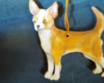 Chihuahua Dog ornament custom