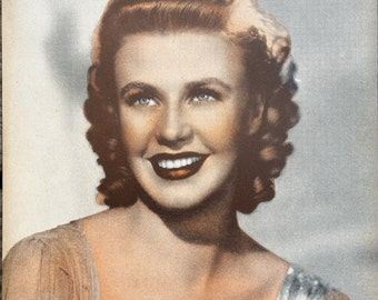 Ginger Rogers Vintage Sepia 6x8 Photographic Print