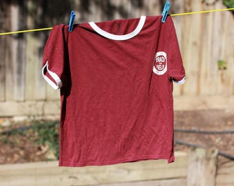 HARVARD UNIVERSITY ATHLETIC t shirt track and field
