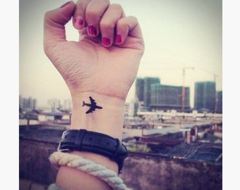 Airplanes - Temporary Tattoos // Cute // Travel // Tumblr Style // Summer // Party