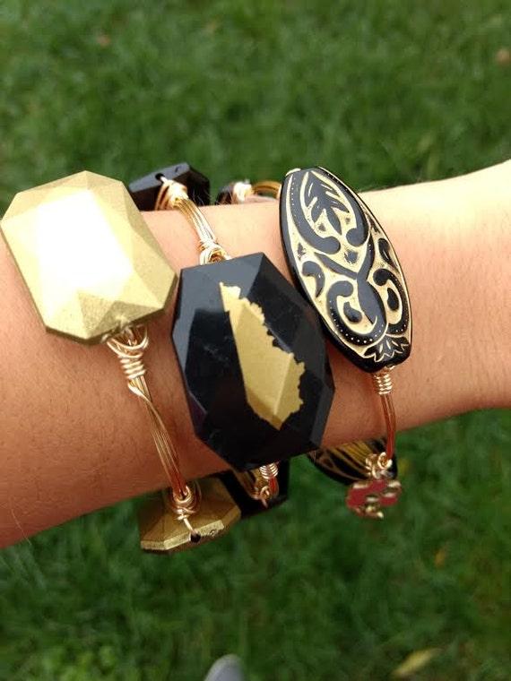 Kentucky bangle bracelet, Kentucky jewelry, handmade bangles