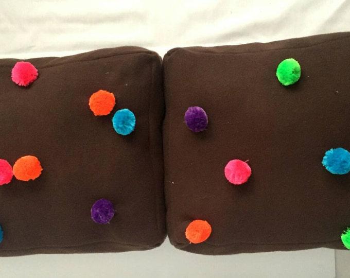 Cosmic brownies floor pillows