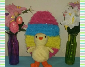 Crochet Chick Sale 30% Off, Plush Chick, Chicken, Handmade Easter Gifts