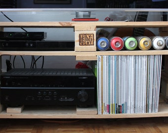 Pallets TV furniture - hand made