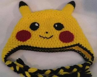 Pikachu Earflap Beanie