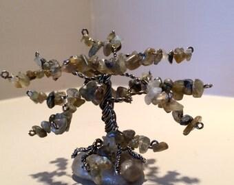 labradorite Mini Gem Tree