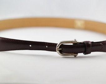 BURBERRYS leather belt