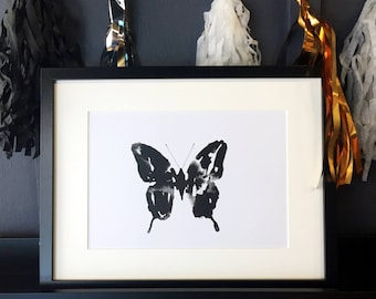 Butterfly Inkling print