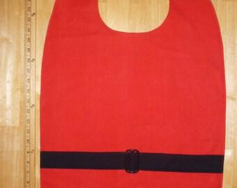 Adult bib / Clothes protector / Special needs bib / Santa Claus / Costume