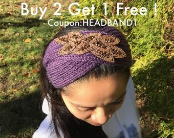 Knit headband Winter knit headband winter headband