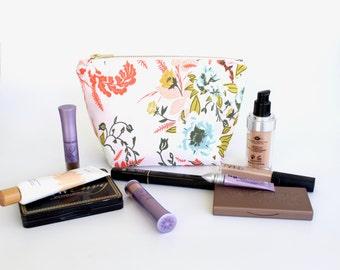 Mini Toiletry Cosmetic Bag - Makeup Case - Waterproof Travel Bag