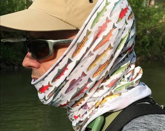 Loyalhanna Fly Fishing Buff with UV protection