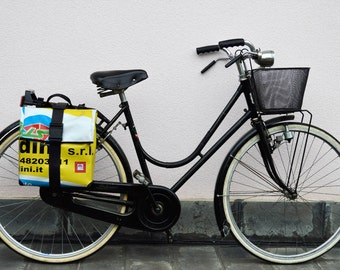 Waterproof panniers//Freedom Bike Bag//eco design bike friendly cruelty free//gift for her and him//love for cycling
