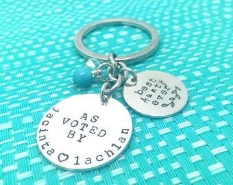 Best Auntie Ever, Personalized Keyring, Best Auntie, Auntie Gift, Aunt Gift, Auntie, Gift For Auntie, Gift For Aunt, Gift From Niece, Niece