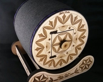 "Tile embroiderer model ""Drum from the Queyras"""
