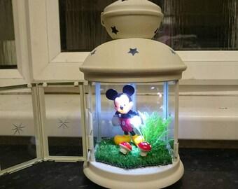 Hand crafted night light / lamp