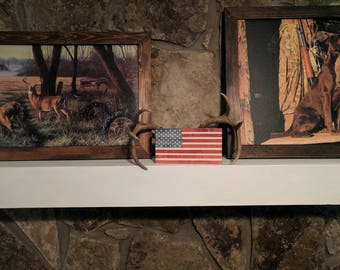 American Flag Decorative Mantle-piece