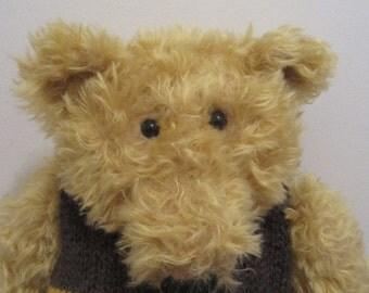 Bumbles - a O.O.A.K. hand stitched artist bear.