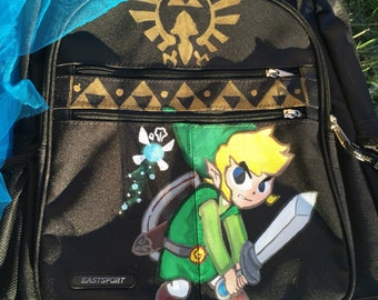 Legend of zelda backpack