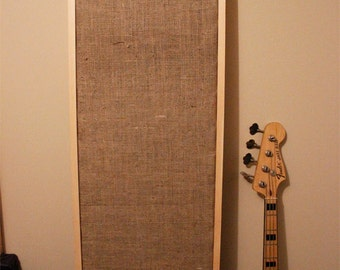 NEW! Brown Burlap Acoustic Panel