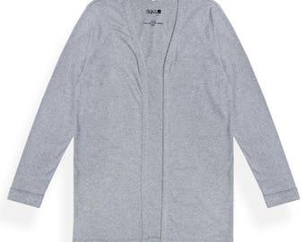 Coat Cardigan grey